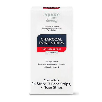 $ CDN16.23 • Buy Equate Beauty Charcoal Pore Strips For Nose & Face Combo Pack, 14 Count..