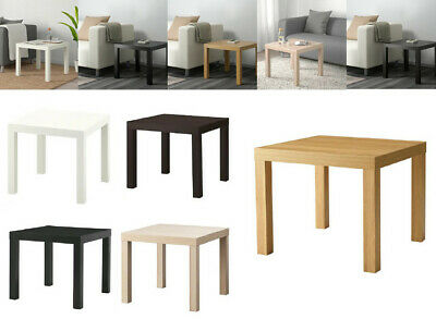 Ikea LACK Side Table Display Square Small Coffee Table Office Bedroom 55x55 UK • 19.99£