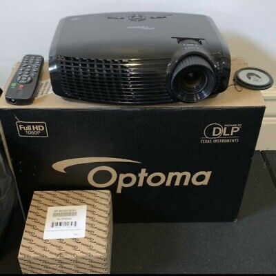 AU750 • Buy Home Theatre / Commercial Multimedia Projector. Hardly Used! Optoma Full HD