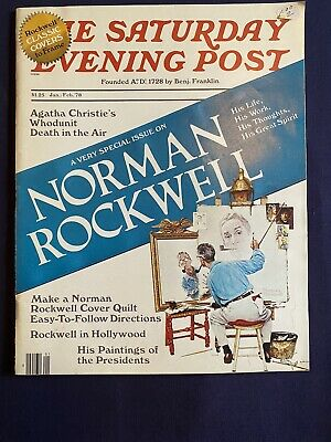 $ CDN12.70 • Buy Saturday Evening Post Magazine Norman Rockwell Very Special Issue Jan/Feb 1978