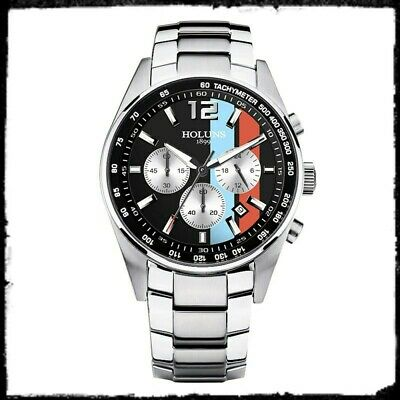 Motorsport Car Style Watch Steve McQueen Le Mans Style Stripes, New With Tag  • 36.99£