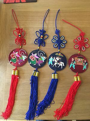 4 Chinese Style Decorative Wall Hanging • 15£