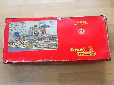 Vintage RS.21 Tri-ang Model Railway Train Set With Power Unit • 26£