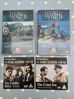 World War Ll In Colour + 2 Classic British Films Dvds  • 2.10£