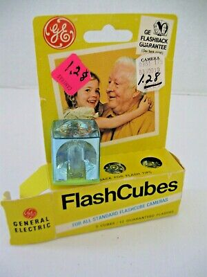$7.51 • Buy GE Flash Cubes 3 Cubes Original Box