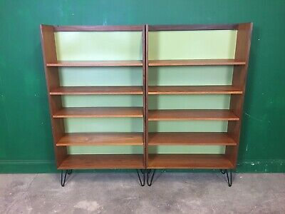Pair Of G Plan Sierra Shelves On Hairpin Legs. Courier Available • 245£