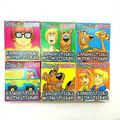 £1.75 • Buy 16g Candy Stick Box With Stickers Scooby-Doo Superman Batman UKSeller