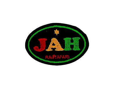 Patch Embroidered Thermoadhesive Backpack Rasta Reggae Ethiopia Lion Jah • 2.74£