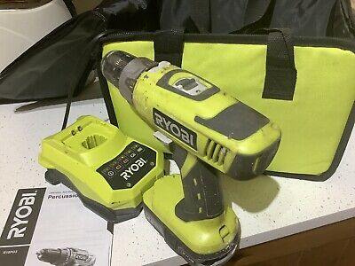 Ryobi - 18v One+ Compact Drill - RCD1802  2.5 Ah Battery (good),and Charger. • 62£