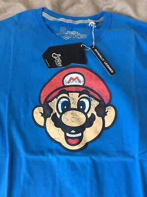 OFFICIAL MARIO KART Arcade Space Invaders T-Shirt Street Fighter • 8.95£