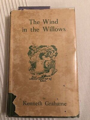 Vintage 1940s Edition Wind In The Willows Kenneth Grahame • 6.99£