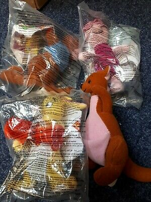 Mcdonalds Winnie The Pooh Characters 2002 New And Used Piglet 1998 • 3.50£