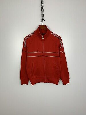Vintage Adidas Techno Track Top, Made In West Germany, Size S • 19.31£