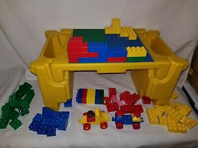 £28.76 • Buy Vintage Rare Lapper Duplo Lego Table Toys For Toddlers Kids