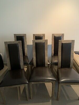 AU200 • Buy Dining Chairs 6 And Table Used