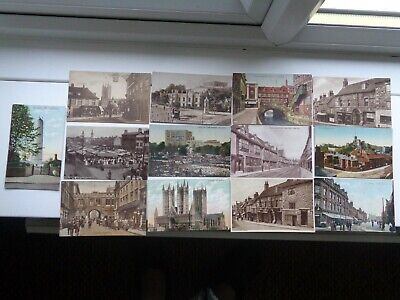 13 GOOD EARLY  NORFOLK & EAST ANGLIA  POSTCARDS VERY GOOD / MINT Cond     Lot 77 • 10£