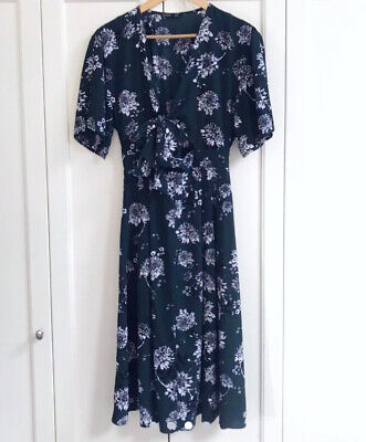 AU10 • Buy SASS Magnolia Fields Floral Midi Dress - Size 8- New Without Tags