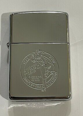 AU18.50 • Buy Vintage Zippo Lighter 5th Anniversary Windproof Zippo Lighter