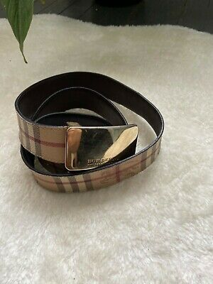 Women's Burberry Belt. Used. Good Conditions With Some Wear Marks In The Buckle. • 50£
