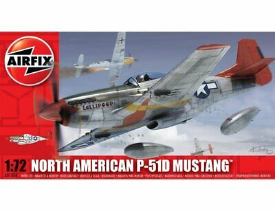 Airfix A01004 North American P51D Mustang 1:72 Brand New • 7.49£
