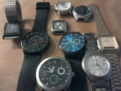 Joblot  Of Mens And Ladies Watches Spares Or Repair • 22£