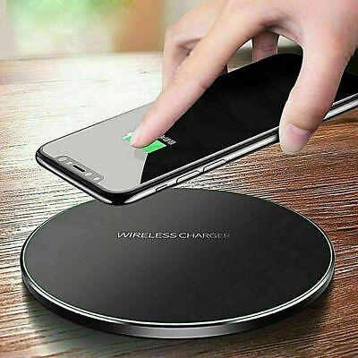 $ CDN8.50 • Buy Qi Wireless Charger Fast Charging Pad For Samsung Galaxy S6 S7 S8 S9 S10 IPhone