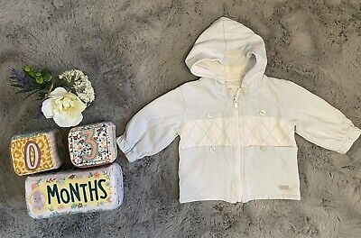 £6.99 • Buy Baby Boys 0-3 Months Coco Coat Hoodie  Spanish (A)