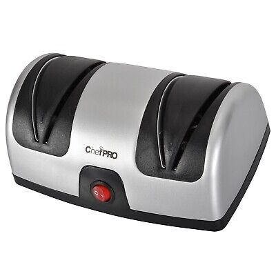 $28.27 • Buy Chef PRO Electric Kitchen Knife Sharpener And Polishing System, Black-Silver