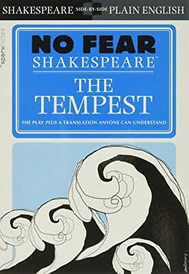 The Tempest (No Fear Shakespeare), Paperback,  By SparkNotes • 7.41£