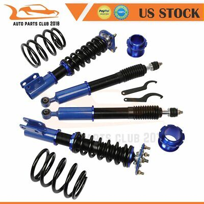 $262.49 • Buy Coilovers Struts Suspension Spring For 1994-2004 Ford Mustang Adjustable Height