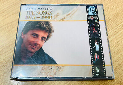 Barry Manilow – The Songs: 1975 - 1990 (1990 Arista) 2CD Double CD Fat Box Case • 3.49£