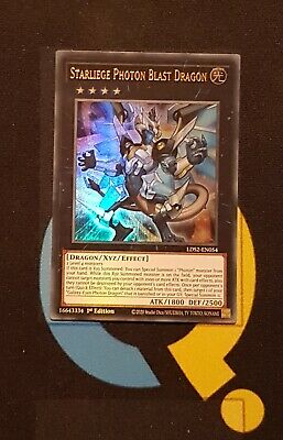£1.50 • Buy Starliege Photon Blast Dragon - LDS2-EN054 - Ultra Rare - 1st Ed - YuGiOh