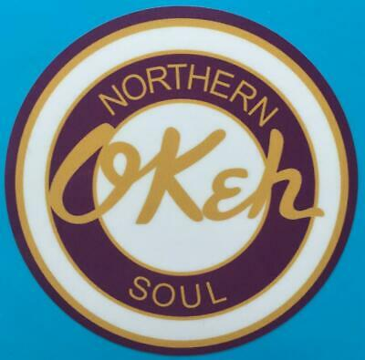 Northern Soul Car Window Sticker - Northern Soul Okeh • 1.49£
