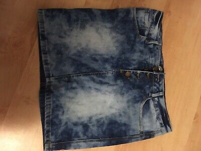 Size 12 Stretchy Mini Skirt Looks Great Over Legging • 1£