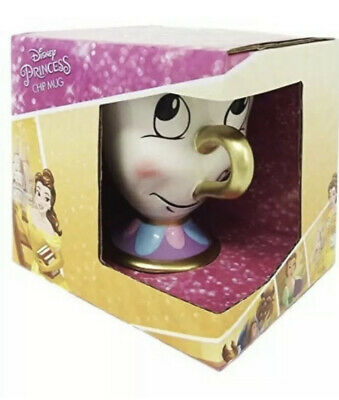New Disney Princess **Beauty And The Beast** Chip Cup • 2£