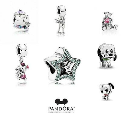 £12.99 • Buy New Genuine Silver Pandora Disney Collection S925 Ale Charms Uk Gift Free Pouch