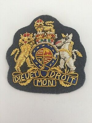 £10 • Buy RAF Warrant Officers 1st Class WO1 Gold Wired Mess Dress Badge LARGE