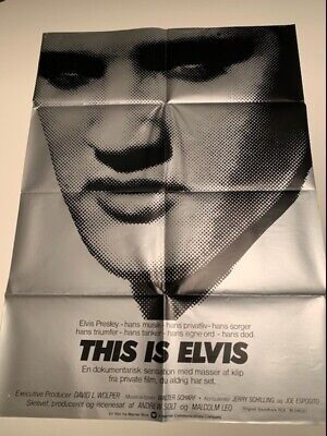 $ CDN636.80 • Buy THIS IS ELVIS Classic Cult  Movie Posters A1 Size Nostalgic Home Cinema Decor