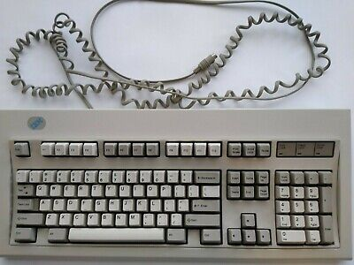 IBM Lexmark Model M Buckling Spring Mechanical Keyboard PS/2 52G9700 14FEB94 • 94.06£