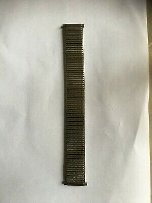 £10 • Buy Men's Expander Stainless Steel Adjustable Ends  Watch Strap Size 16 Mm To 22 Mm