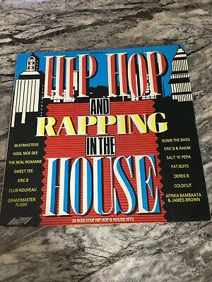 Various - Hip Hop And Rapping - SMR 852 - Vinyl LP - Uk ID;B7 • 5£