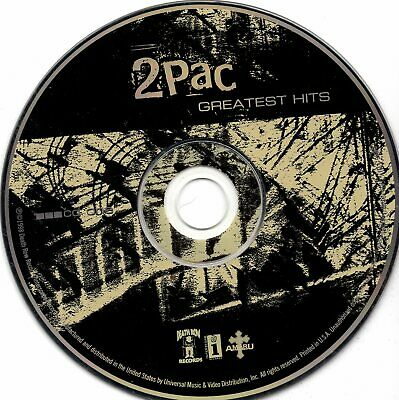 Greatest Hits Disc 1, 2Pac, 1998, CD Only • 1.42£
