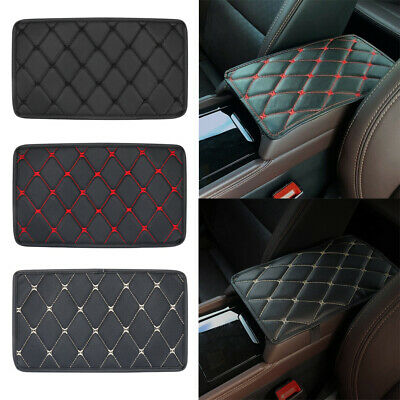AU7.46 • Buy Car Leather Armrest Mat Box Center Console Pad Auto Cushion Cover Accessories