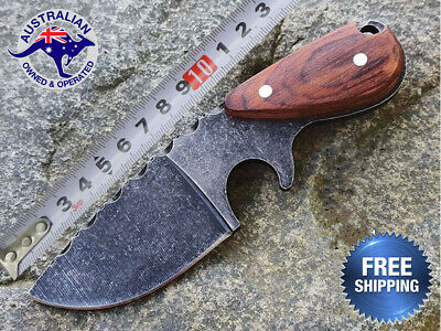 AU25.89 • Buy Fixed Blade Hunting Pig Knife Camping Tactical Outdoor Survival Combat Small