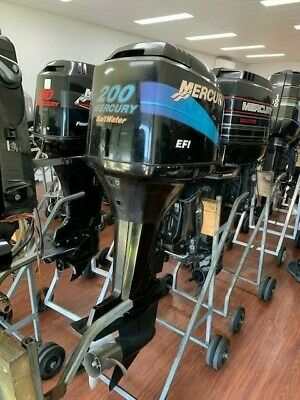 AU6950 • Buy 200hp Mercury EFI Outboard Motor SC