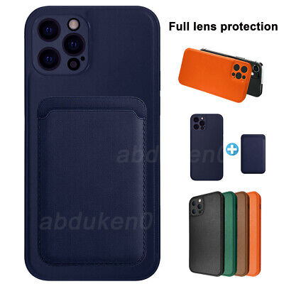 AU12.99 • Buy For IPhone 12 Pro Max 12 Mini Shockproof Leather Case+Card Holder MagSafe Cover