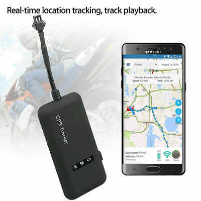 Mini Car GPS Vehicle Spy GSM Real Time Tracking Locator Tracker GPRS Device HOT~ • 14.10£