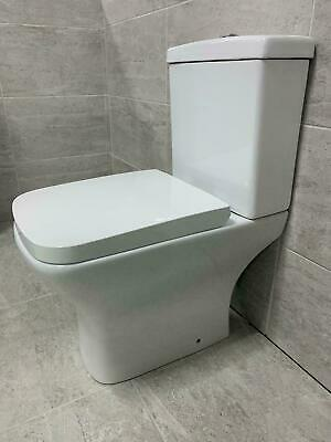 £119.99 • Buy Reflections Sandy Rimless Compact Short Projection Toilet WC + Soft Close Seat