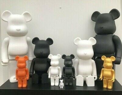 $21.95 • Buy Bearbrick Figure Ornament Statue PopArt Toy Collection 400% 700% 1000% UK SELLER