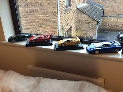 Burago Joblot, Good Condition Having A Clearout 1:18 And 1:24 Nice Cars. • 10.50£